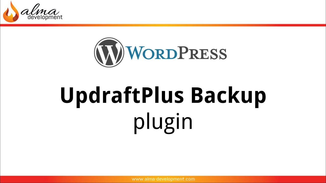 updraftplus backup free wordpress plugin   youtube