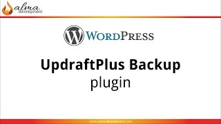 UpdraftPlus Backup: free WordPress plugin