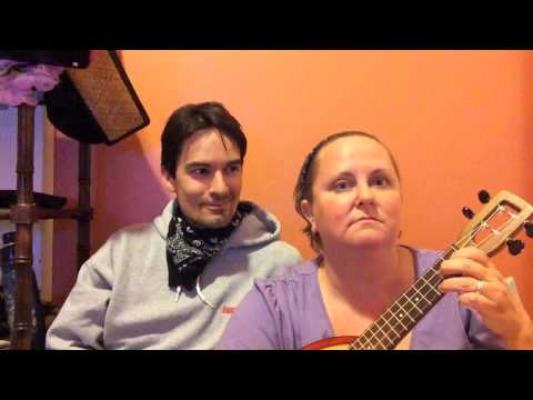 Ukulele two-chord song for kids