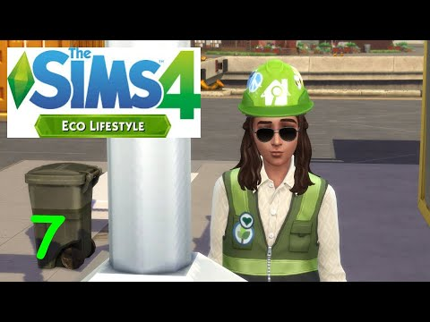 TO TIRED TO PARTY The Sims 4: Eco Lifestyle #7 |