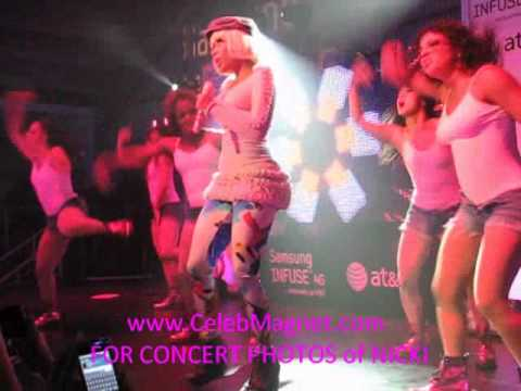 Nicki Minaj Concert @ Private Samsung AT&T Event