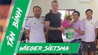 Thủ môn ngoại Wieger Sietsma: Tân binh của HAGL trong mùa giải mới | HAGL Media
