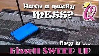 Bissell SweepUp Demo