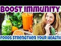 What Are BEST FOODS to Strengthen Your Immune System? How to BOOST Immunity Naturally with FOODS