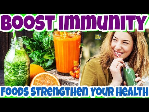 How To BOOST Immunity Naturally With FOODS | BEST VIDEOS