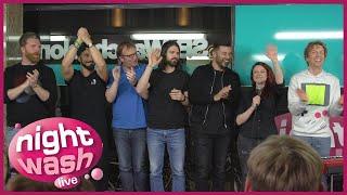 NightWash Live vom 16.04.2018 mit Tahnee, Sven Bensmann, Cüneyt, David, Jens Heinrich, Elias, Andreas und Marcel