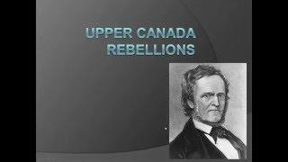 Upper Canada Rebellions