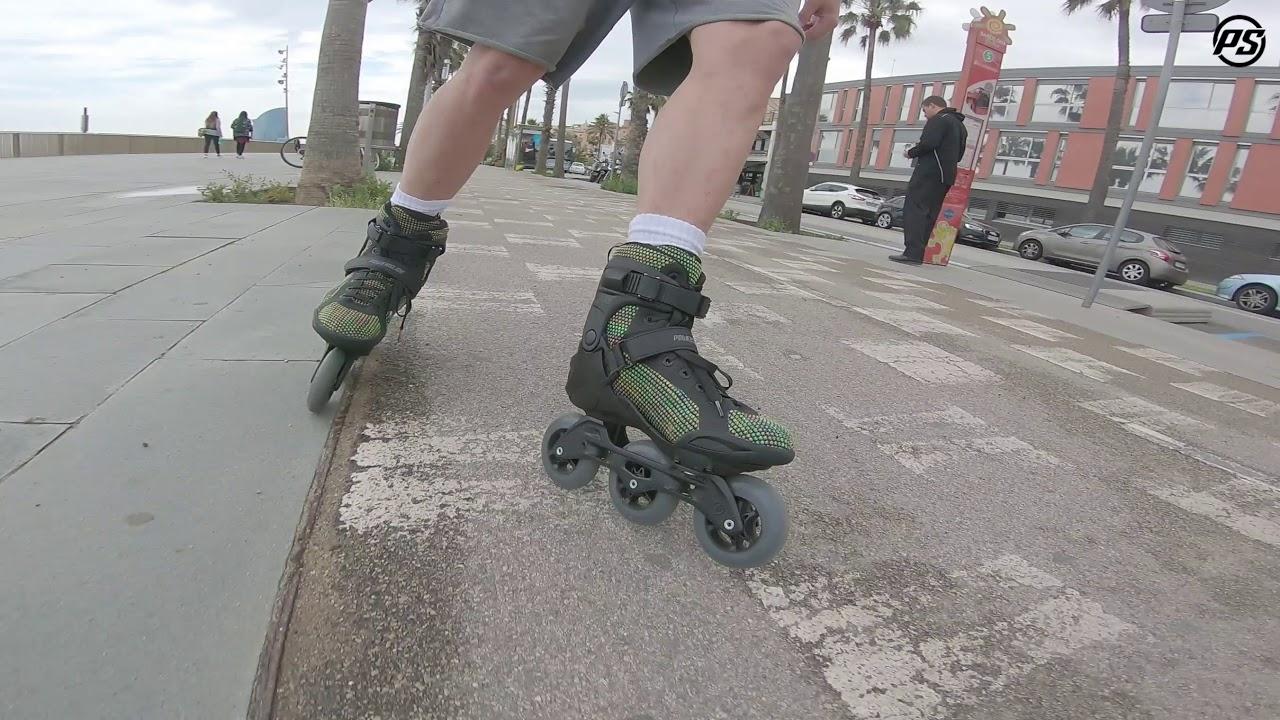 1544856fd92 Powerslide Phuzion Krypton 100 Women skates - Rolling Reviews - YouTube