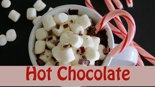 How to Make Hot Chocolate -- Peppermint Hot Chocolate -- The Frugal Chef