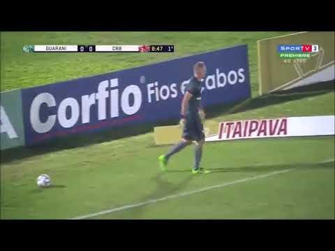Guarani 2 x 0 CRB Gols e Melhores Momentos Brasileirão Série B 2018