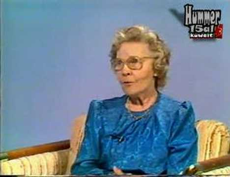 Dr. Eleanor Calverley daughter nora interview with ktv 1985