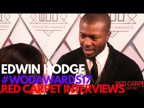 Edwin Hodge SixonHistory ed at the 7th Annual World of Dance Industry Awards WODAWARDS17
