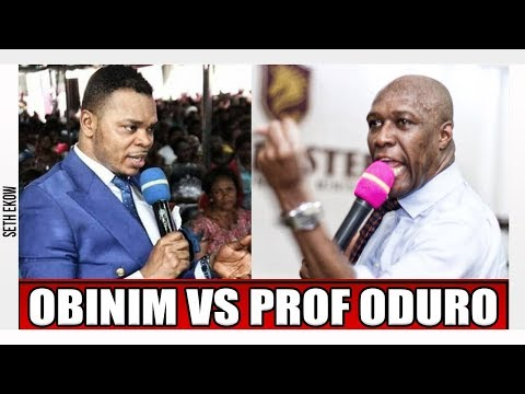 Prophet Oduro Replies Angel Obinim Over Ayent3fr3m And Nimo Kafui