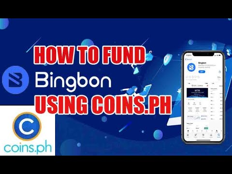 HOW TO FUND BINGBON USING COINS.PH