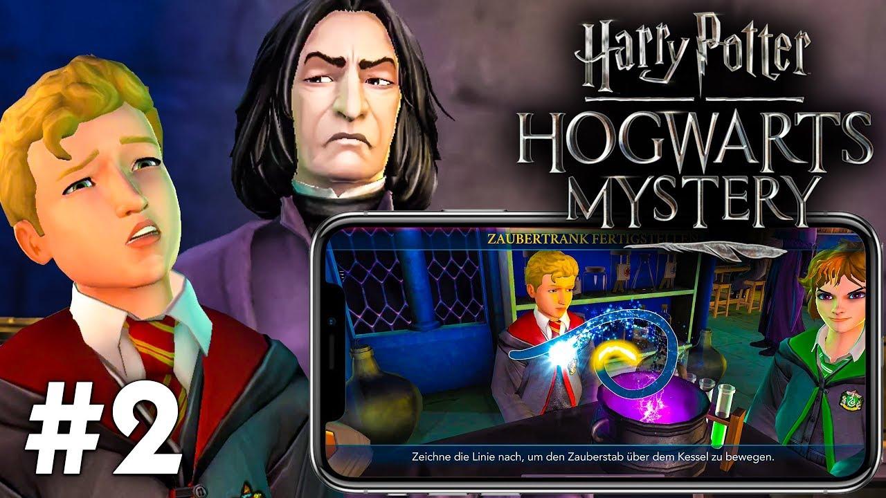 Zaubertranke Mit Snape Let S Play Harry Potter Hogwarts Mystery 2 Ios Gameplay Deutsch Youtube