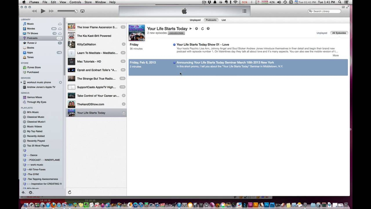 How to add your missing podcast image into itunes