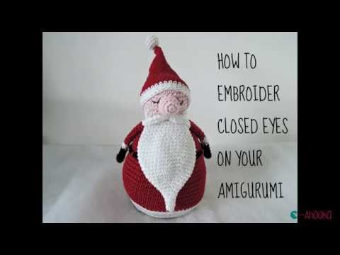 How to embroider closed eyes on your amigurumi broder des yeux how to embroider closed eyes on your amigurumi broder des yeux ferms sur son amigurumi ccuart Image collections