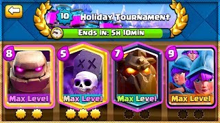 DOUBLE ELIXIR GLOBAL CHALLENGE - What to use?! [Clash Royale]