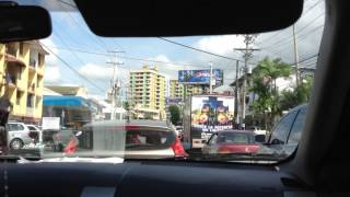Driving in Panama
