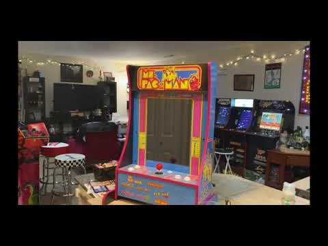 Arcade1Up Ms Pacman Partycade 8 in 1 from The Orrminators