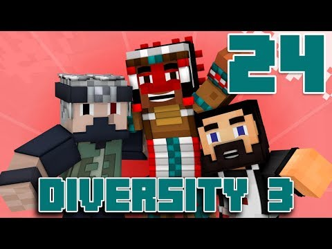 Team Canada Plays DIVERSITY 3 - EP24 (Custom Minecraft Map)