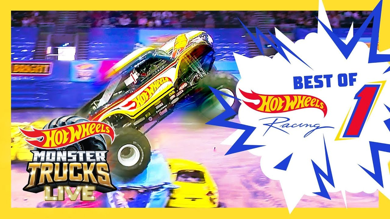 HOT WHEELS #1 RACER CHALLENGE! 🏁 | Monster Trucks LIVE | Hot Wheels
