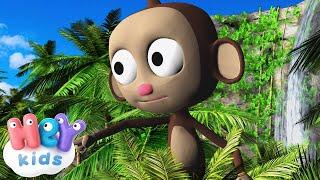 Die Affen rasen durch den Wald - Lieder für Kinder - KinderliederTV.de