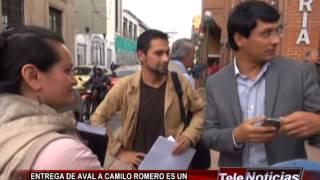 ENTREGA DE AVAL A CAMILO ROMERO ES UN ACUERDO  POLÍTICO QUE YA ESTABA PACTADO