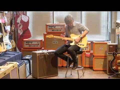 Trevor Boone Demos A 1960 Fender Concert Amp At Emerald City Guitars
