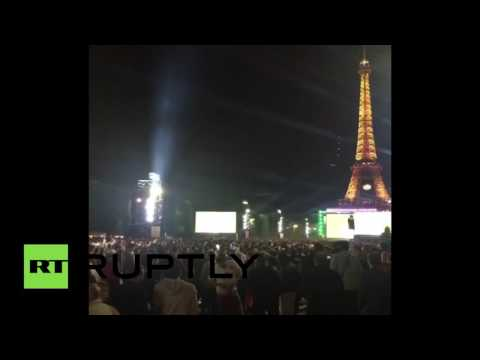 Stampede, panic in Paris fanzone after firecracker let off