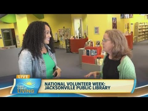 National Volunteer Week: Jacksonville Public Library (FCL April 11th)
