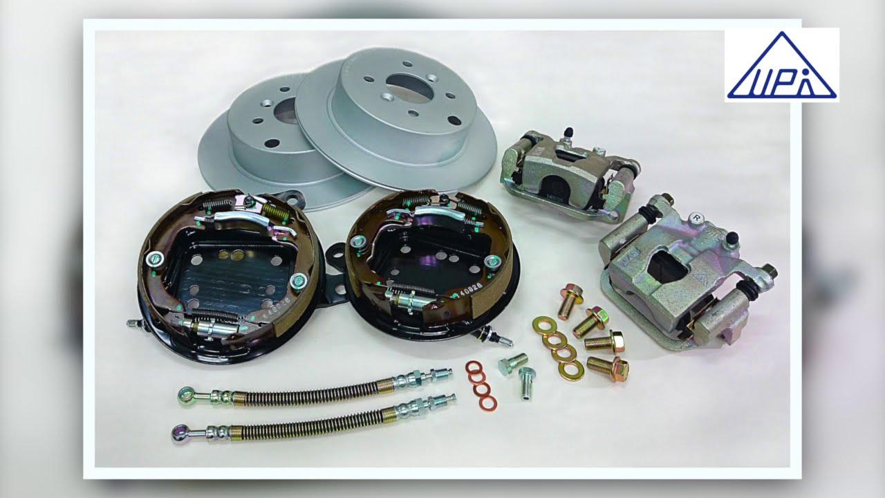 Rear Drum Brake Upgrade To Individual Disc Brake With