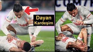 Cristiano Ronaldo Ve Dybala'nın Merih Demiral'ın Sakatlanmasına Tepkisi