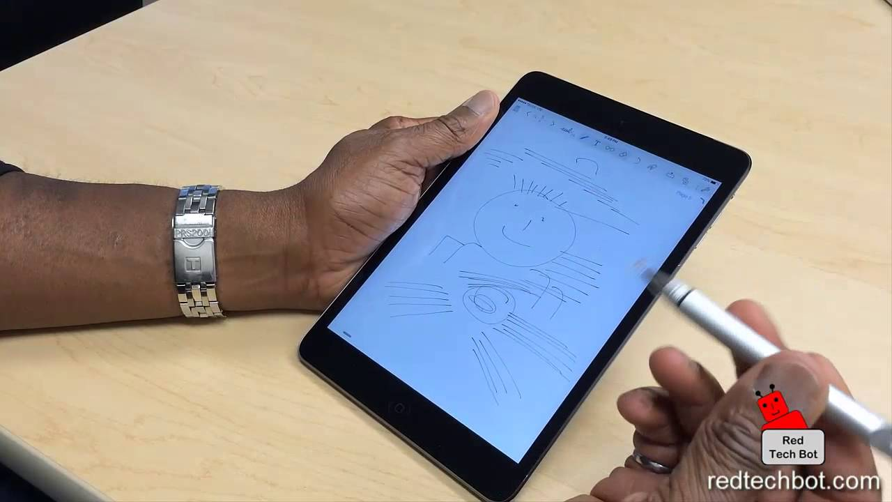 Adonit Pixel Stylus: First Impressions - YouTube