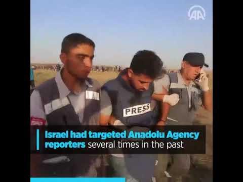 Israel hits Anadolu Agency's offices in Gaza