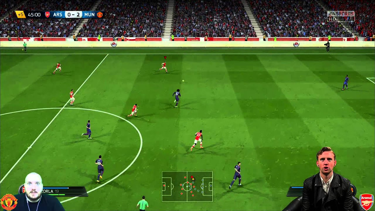 Arsenal vs. Manchester United - YouTube
