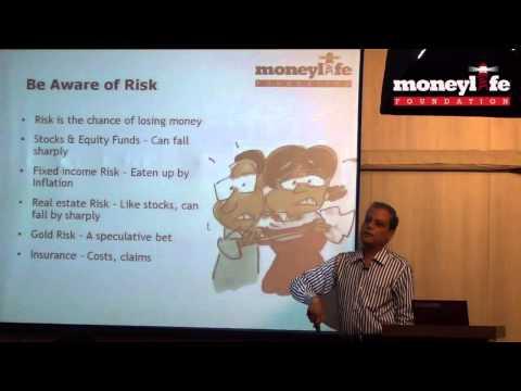 "Debashis Basu on ""Simplify Your Financial Life"" at Moneylife Foundation"