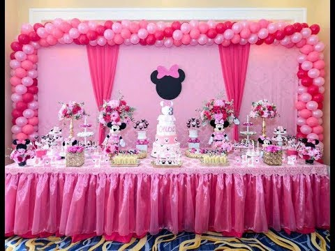 🐭DECORACION DE MIMI/MINNIE MOUSE🍭