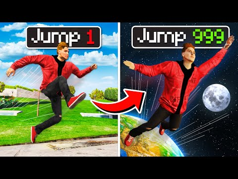 I Made EVERY JUMP MULTIPLY In GTA 5! (Mods)