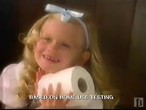 Quilted Northern Toilet Paper Commercial 1996