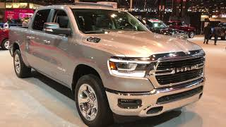 ALL NEW 2019 RAM 1500 BIG HORN HEMI WALK AROUND REVIEW 2018 CHICAGO AUTO SHOW www.SUMMITAUTO.com