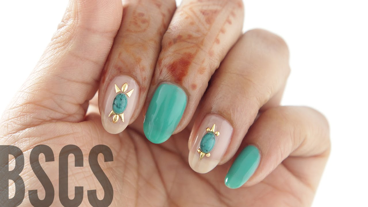 BSCS | How to Apply 3D Nail Art that STAYS! - YouTube