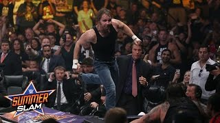 WWE Network: Roman Reigns & Dean Ambrose vs. Bray Wyatt & Luke Harper: SummerSlam 2015