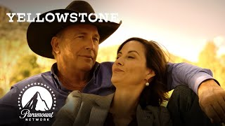 Governor Perry Enjoys a Sunset w/ John Dutton | Yellowstone | Paramount Network
