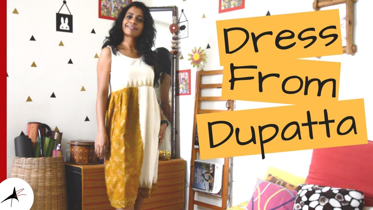 Outfit From Dupatta | #SustainableFashion