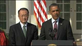 Obama Taps Jim Yong Kim for World Bank
