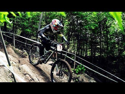 Can You Watch this POV Ride w/o Getting Dizzy? | Myriam Nicole UCI Mountainbike Downhill WC Canada