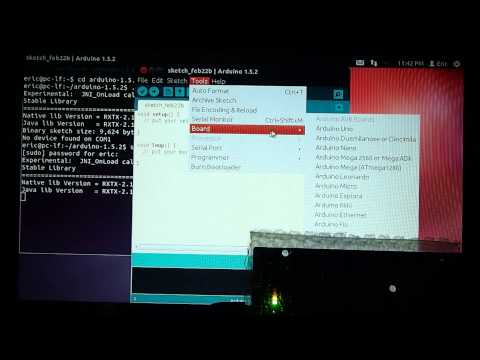 "Arduino software on Ubuntu, with error of ""No device found on COM1"""