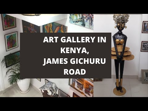 WHERE TO GET KENYAN  ART WORK IN NAIROBI, KENYA    DECOR YOUR SPACE KIOKO ART GALLERY