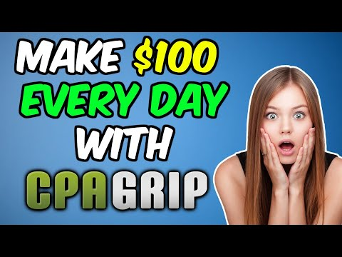 CPAGRIP: MAKE $100 PER DAY With FREE Traffic Offer Promotion [Content Locker Full Tutorial in 2020]